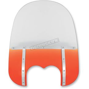 Memphis Shades Memphis Fats 21 in. Windshield for FXDF - MEM6537