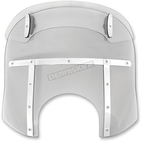 Memphis Shades Ghost Drop Top Memphis Fats 17-20 in. Windshield for 9 in. Headlights - MDM31808