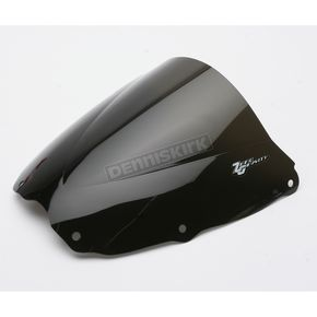 Zero Gravity Dark Smoke Double Bubble Windscreen - 16-417-19