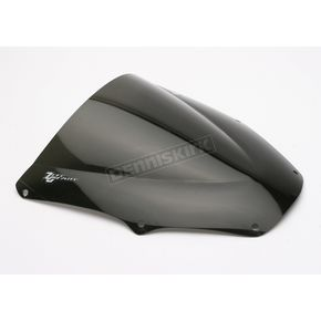 Zero Gravity Dark Smoke Double Bubble Windscreen - 16-223-19