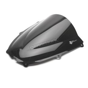 Zero Gravity Dark Smoke Double Bubble Windshield - 16-576-19
