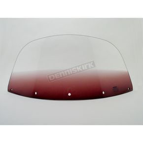 Memphis Shades 7 in. Replacement Gradient Purple Plastic for use with OEM Harley-Davidson Windshield Hardware - MEP8044