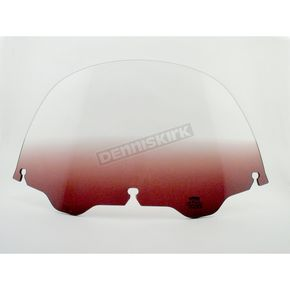 Memphis Shades 9 in. Replacement Gradient Purple Plastic for use with OEM Harley-Davidson Windshield Hardware - MEP8114