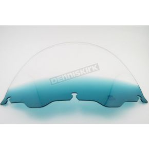 Memphis Shades 15 in. Replacement Gradient Teal Plastic for use with OEM Harley-Davidson Windshield Hardware - MEP8133