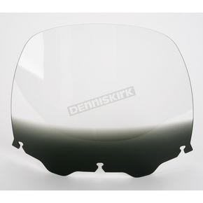 Memphis Shades 15 in. Replacement Gradient Black Plastic for use with OEM Harley-Davidson Windshield Hardware - MEP8131