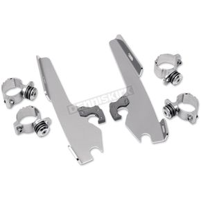 Memphis Shades No-Tool Trigger-Lock Hardware Kits for Fats/Slim or Batwing Fairing - MEM8968