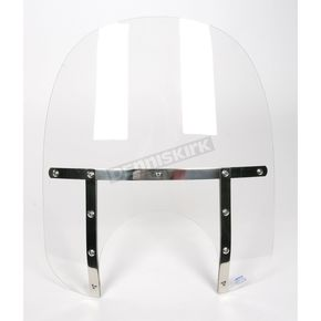 Memphis Shades Memphis Fats 17 in. Windshield with 11 in. Headlight Cutout - 2312-0017