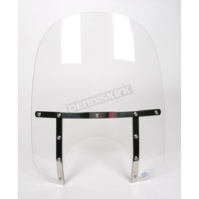 Memphis Shades Memphis Fats 19 in. Windshield with 11 in. Headlight Cutout - 2312-0025