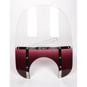 Memphis Shades Memphis Fats 19 in. Windshield with 11 in. Headlight Cutout - 2312-0029