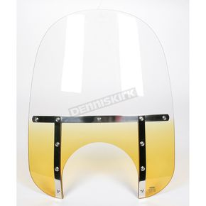 Memphis Shades Memphis Fats 19 in. Windshield with 11 in. Headlight Cutout - 2312-0030