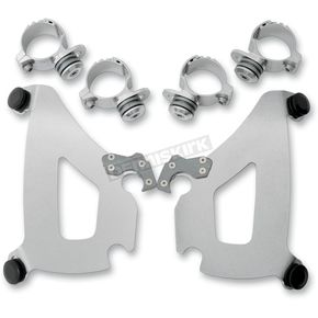 Memphis Shades Polished Trigger-Lock Mounting for the Bullet Fairings - 2321-0199
