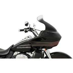 Memphis Shades Ghost 11.5 in. Spoiler Windshield for OEM Windshield for OEM Fairings - MEP85808