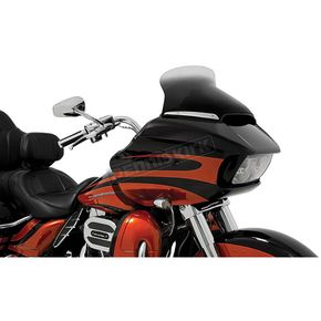 Memphis Shades Ghost 8.5 in. Spoiler Windshield for OEM Fairing - MEP86108