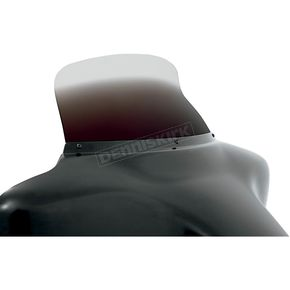 Memphis Shades 9 in. Replacement Ghost Spoiler Windshield for OEM FLHT Fairings - 2350-0180