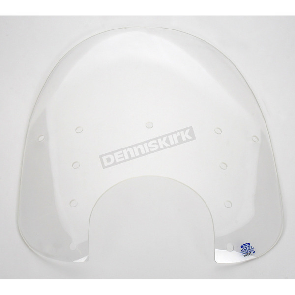 Memphis Shades Replacement Memphis Fats Clear Windshield Plastic for Standard  5 3/4 in. - 7 in. Headlights - MEP3210