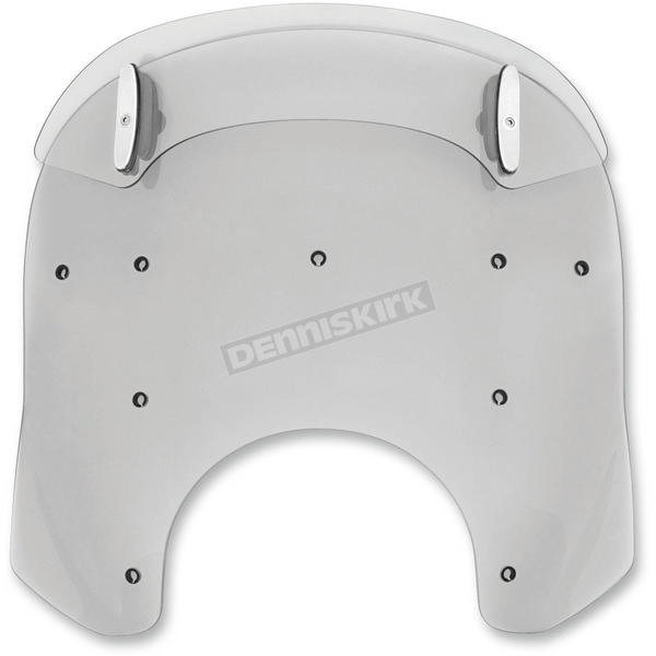 Memphis Shades Ghost Drop Top 17-20 in. Relacement Plastic for Road King Windshields - MDP63208