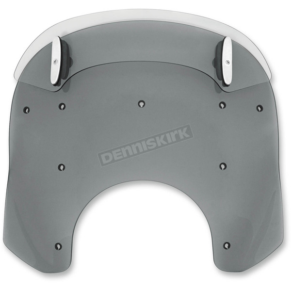 Memphis Shades Black Drop Top 13-16 in. Relacement Plastic for Road King Windshields - MDP61210