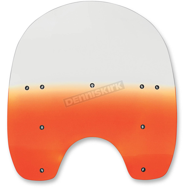 Memphis Shades 17 in. Replacement Gradient Burnt Orange Plastic for use with OEM HD Hardware - MEP6287