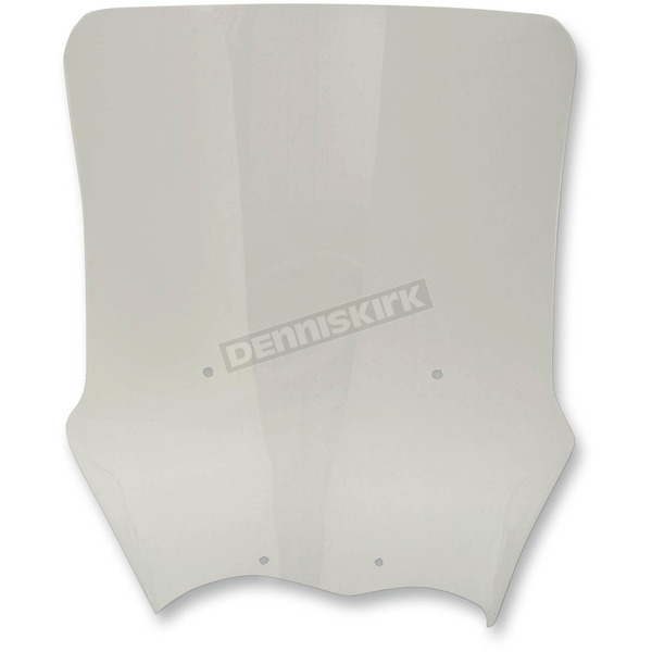 Moose Clear +2 in. Adventure Windscreen  - 2312-0223