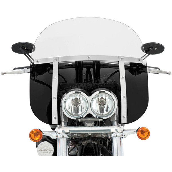 Memphis Shades Memphis Fats 13 in. Windshield for FXDF - MEM6631