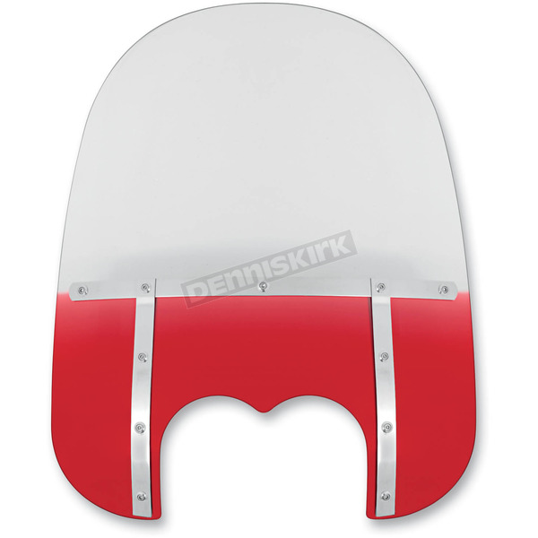 Memphis Shades Memphis Fats 21 in. Windshield for FXDF - MEM6532