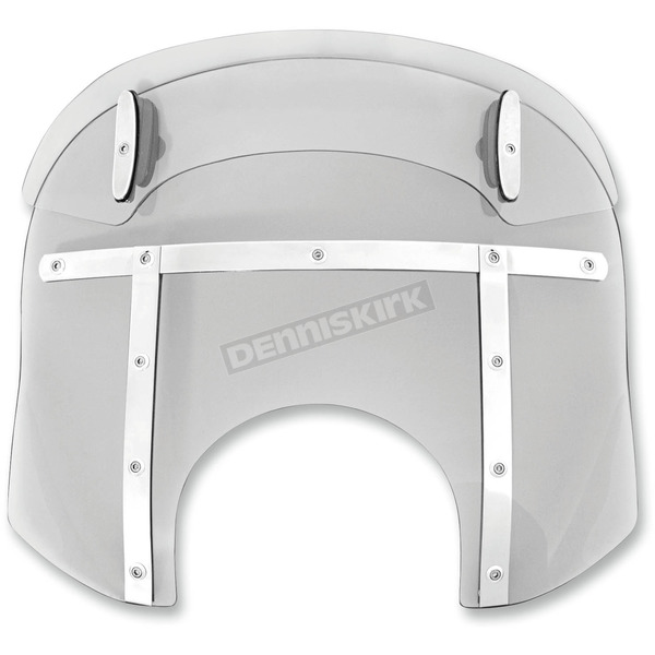 Memphis Shades Ghost Drop Top Memphis Fats 13-16 in. Windshield for 9 in. Headlights - MDM31608