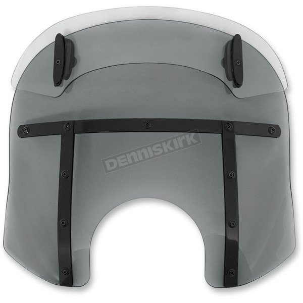 Memphis Shades Night Shades Black Drop Top Memphis Fats 15-18 in. Windshield - MDB31410