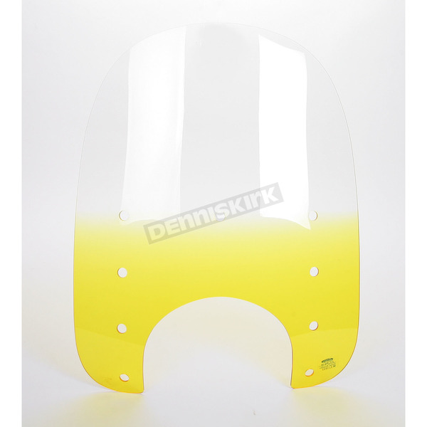 Memphis Shades Replacement Memphis Slims Gradient Yellow Windshield Plastic for Standard  5 3/4 in. - 7 in. Headlights - MEP4115