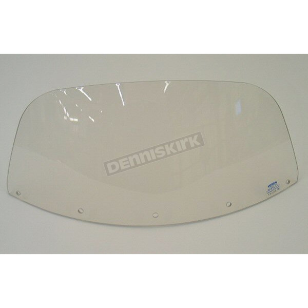 Memphis Shades 7 in. Replacement Solar Plastic for use with OEM Harley-Davidson Windshield Hardware - MEP8049