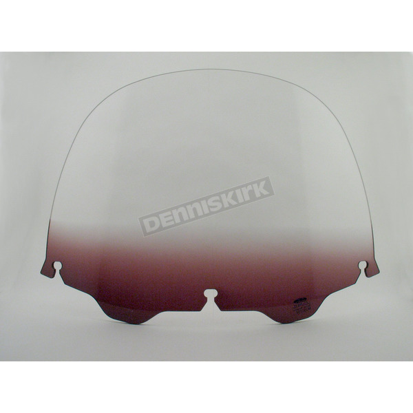 Memphis Shades 12 in. Replacement Gradient Purple Plastic for use with OEM Harley-Davidson Windshield Hardware - MEP8124