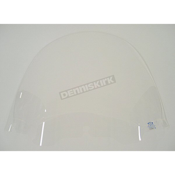 Memphis Shades 15 in. Replacement Clear Plastic for use with OEM Harley-Davidson Windshield Hardware - MEP8130