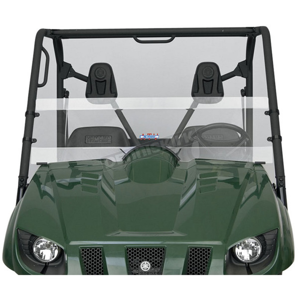 Slip Streamer Clear Half Windshield - S-Y/R-1