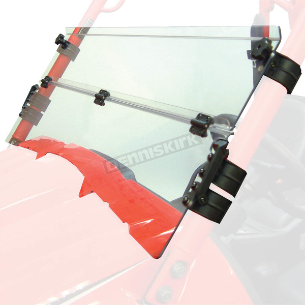Kolpin Clear Half-Folding Windshield  - 1456