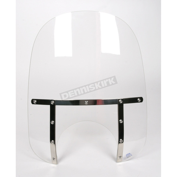 Memphis Shades Memphis Fats 19 in. Windshield with 11 in. Headlight Cutout - MEM6910