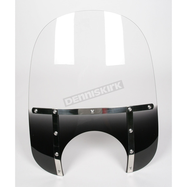 Memphis Shades Memphis Fats 19 in. Windshield with 11 in. Headlight Cutout - MEM6911