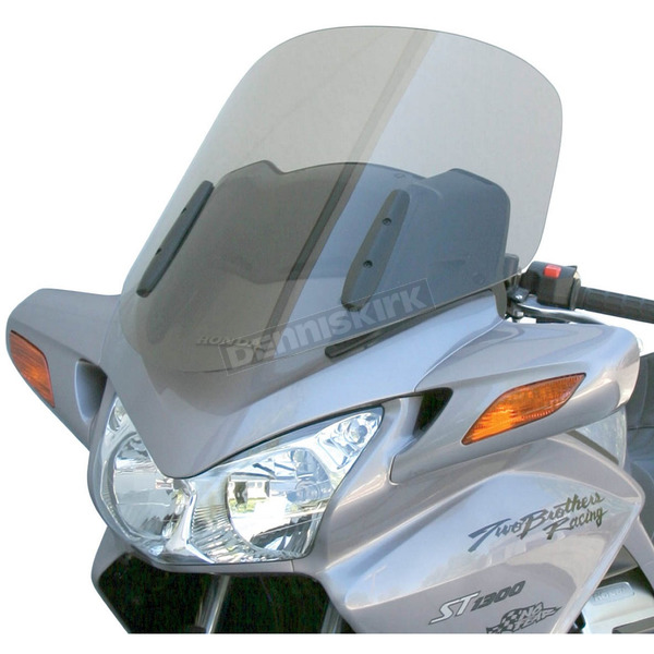 Rifle Light Gray Standard Height Replacement Windshield - 0.102.09.11-T LG