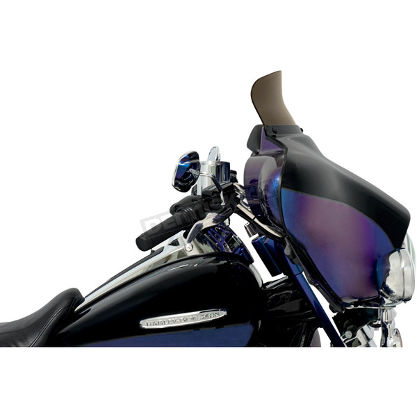 Memphis Shades Replacement Smoke Spoiler Windshield for OEM FLHT Fairings - MEP8571