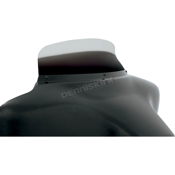 Memphis Shades 5 in. Replacement Ghost Spoiler Windshield for OEM FLHT Fairings - MEP8578