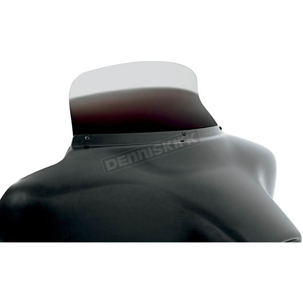 Memphis Shades 6.5 in. Replacement Ghost Spoiler Windshield for OEM FLHT Fairings - MEP8588