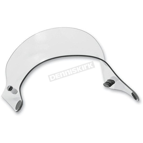 Memphis Shades Bullet Booster Wing Lite Windshield Extension - MEM5807