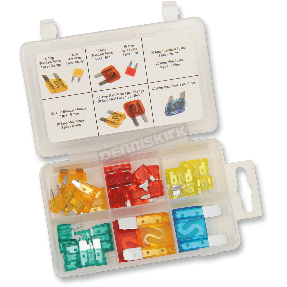 Performance Tool 33-Piece Master Fuse ortment - W5370 Harley ... on mercedes benz fuses, victory motorcycle fuses, lexus fuses, ford fuses, bmw fuses, harley sportster fuses, john deere fuses,