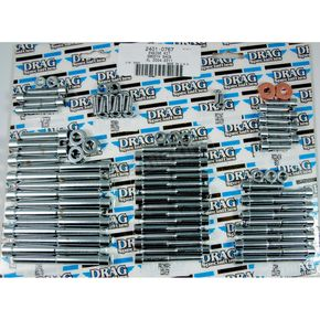 Chrome Smooth Motor Bolt Set - 2401-0767