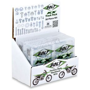 Bolt Motorcycle Hardware Kawasaki KS/KXF Track Pack Hardware Kit - 2014-6KXTP