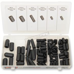 80 Piece Vacuum Cap Assortment - W5232