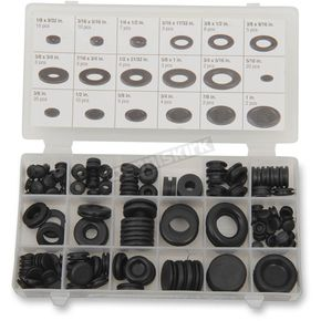 125 Piece Rubber Grommet Assortment - W5214