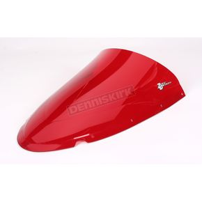 Zero Gravity Red Double Bubble Windshield - 16-727-09