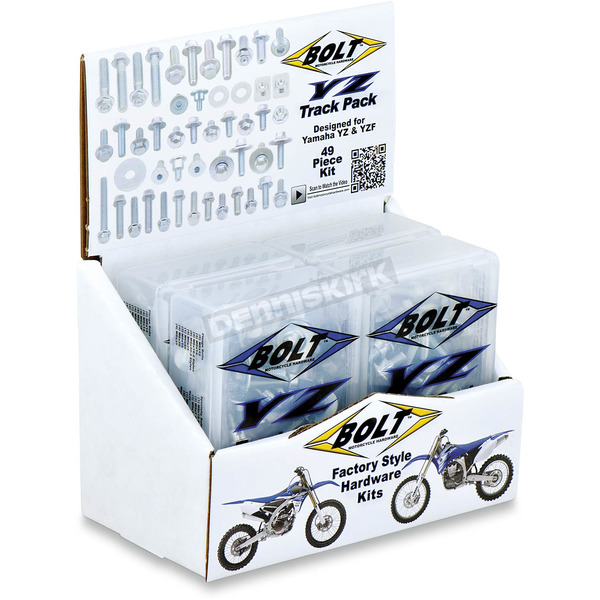 Bolt Motorcycle Hardware Full Plastics Fastener Kit - YAM-1400024