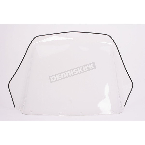 Sno-Stuff 18 1/4 in. Clear Windshield - 450-220
