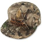 Real Tree Black/Orange Snapback Hat - M15596116BLOONZ