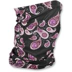 Purple Paisley Fleece-Lined Motley Tube - TF228